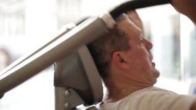 Άσκηση στο κέντρο ικανότητας απόθεμα βίντεο