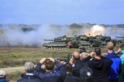 άσκηση στρατιωτική Στοκ Φωτογραφίες