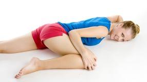 άσκηση της γυναίκας Στοκ φωτογραφία με δικαίωμα ελεύθερης χρήσης