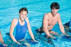 άσκηση της κολύμβησης λι&mu Στοκ Φωτογραφία