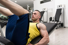 άσκηση του ατόμου μηχανών &gamma Στοκ φωτογραφία με δικαίωμα ελεύθερης χρήσης