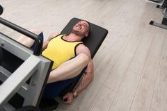 άσκηση του ατόμου μηχανών &gamma Στοκ Φωτογραφίες