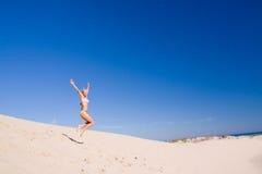 άσκηση του θηλυκού Στοκ φωτογραφία με δικαίωμα ελεύθερης χρήσης