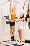 άσκηση του κοριτσιού vkr Στοκ εικόνα με δικαίωμα ελεύθερης χρήσης
