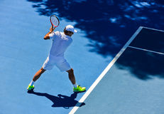 Άσκηση του Roger Federer Στοκ φωτογραφίες με δικαίωμα ελεύθερης χρήσης