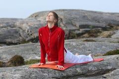 άσκηση των νεολαιών γιόγκ&al Στοκ Εικόνα