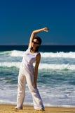 άσκηση των νεολαιών γυνα&iot στοκ εικόνες με δικαίωμα ελεύθερης χρήσης