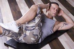 άσκηση ABS Στοκ φωτογραφία με δικαίωμα ελεύθερης χρήσης