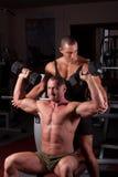 άσκηση bodybuilders στοκ εικόνες