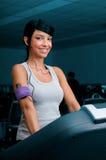 άσκηση treadmill γυμναστικής στοκ εικόνες