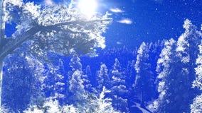 Δάσος Christmac στα βουνά φιλμ μικρού μήκους