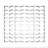 Άσπρα γεωμετρικά σύσταση και υπόβαθρο Στοκ εικόνα με δικαίωμα ελεύθερης χρήσης