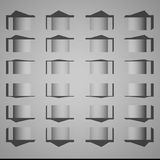 Άσπρα γεωμετρικά σύσταση και υπόβαθρο Στοκ φωτογραφίες με δικαίωμα ελεύθερης χρήσης