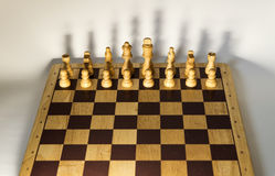 Άσπρα κομμάτια με τη σκιά Στοκ φωτογραφία με δικαίωμα ελεύθερης χρήσης