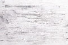 Άσπρα ξύλινα υπόβαθρα σύστασης Στοκ φωτογραφία με δικαίωμα ελεύθερης χρήσης