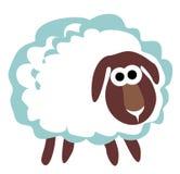 Άσπρα πρόβατα Στοκ Εικόνες