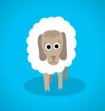 Άσπρα πρόβατα ελεύθερη απεικόνιση δικαιώματος