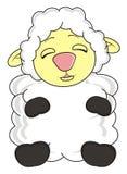 Άσπρα πρόβατα Στοκ εικόνα με δικαίωμα ελεύθερης χρήσης