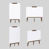 Άσπρα πρότυπα πινάκων Στοκ Φωτογραφίες