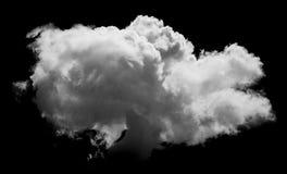 Άσπρα σύννεφα πέρα από το μπλε Στοκ Φωτογραφία