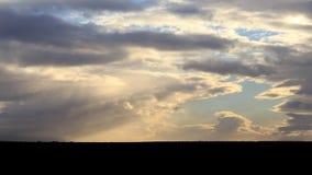 Άσπρα σύννεφα - τοπίο Addo Στοκ Φωτογραφίες
