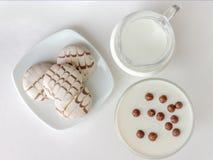 Άσπρα τρόφιμα Στοκ Φωτογραφίες