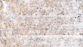 Άσπρα φωτεινά τεμάχια σκόνης βράχου σχεδίων μωσαϊκών ελεύθερη απεικόνιση δικαιώματος