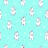 Άσπρα Sheeps και Snowflakes Στοκ φωτογραφίες με δικαίωμα ελεύθερης χρήσης