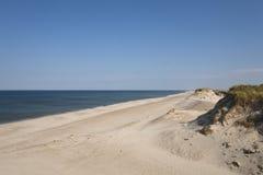 Άσπρες άμμοι, Δανία Στοκ εικόνα με δικαίωμα ελεύθερης χρήσης