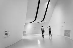 Άσπρες αίθουσες Στοκ Φωτογραφία