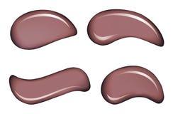 Άσπρες διανυσματικές πτώσεις κρέμας δερμάτων καλλυντικές απεικόνιση αποθεμάτων
