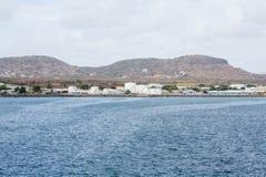 Άσπρες δεξαμενές πετρελαίου σε St. Kitts Στοκ φωτογραφία με δικαίωμα ελεύθερης χρήσης