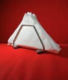 Άσπρες πετσέτες Στοκ Φωτογραφίες