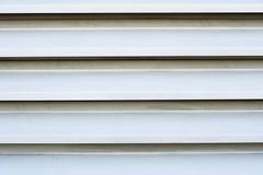 Άσπρες louver διέξοδοι στοκ φωτογραφία με δικαίωμα ελεύθερης χρήσης