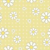 Άσπρη άνευ ραφής ταπετσαρία λουλουδιών Στοκ φωτογραφία με δικαίωμα ελεύθερης χρήσης