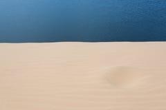 Άσπρη έρημος αμμόλοφων άμμου στο ΝΕ Mui, Βιετνάμ Στοκ φωτογραφίες με δικαίωμα ελεύθερης χρήσης