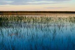 Άσπρη λίμνη Στοκ Εικόνες