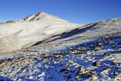 Άσπρη αιχμή βουνών, Καλιφόρνια στοκ εικόνες