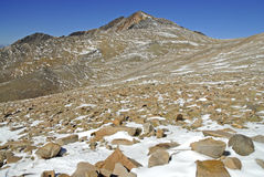 Άσπρη αιχμή βουνών, Καλιφόρνια στοκ εικόνες με δικαίωμα ελεύθερης χρήσης