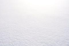 Άσπρη ανασκόπηση χιονιού Στοκ Φωτογραφίες
