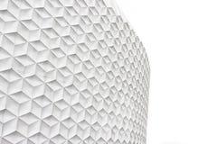 Άσπρη αφηρημένη πρόσοψη Στοκ εικόνες με δικαίωμα ελεύθερης χρήσης