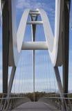 Άσπρη γέφυρα Στοκ φωτογραφίες με δικαίωμα ελεύθερης χρήσης