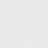 Άσπρη γεωμετρική άνευ ραφής σύσταση Στοκ Εικόνες
