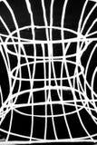 άσπρη γραμμή στο σκοτεινό υπόβαθρο στοκ εικόνα με δικαίωμα ελεύθερης χρήσης