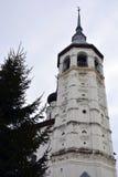 Άσπρη εκκλησία πετρών της Ρωσίας Στοκ εικόνα με δικαίωμα ελεύθερης χρήσης