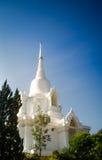 Άσπρη εκκλησία του Βούδα Στοκ φωτογραφία με δικαίωμα ελεύθερης χρήσης
