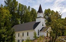 Άσπρη εκκλησία 3 Στοκ φωτογραφίες με δικαίωμα ελεύθερης χρήσης