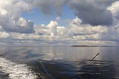 Άσπρη θάλασσα Στοκ Εικόνες