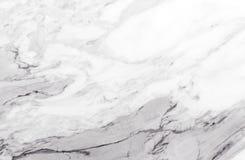 Άσπρη και γκρίζα μαρμάρινη σύσταση με τις λεπτές φλέβες Στοκ εικόνες με δικαίωμα ελεύθερης χρήσης