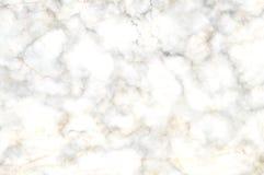Άσπρη και γκρίζα μαρμάρινη σύσταση σύννεφων Στοκ Εικόνα